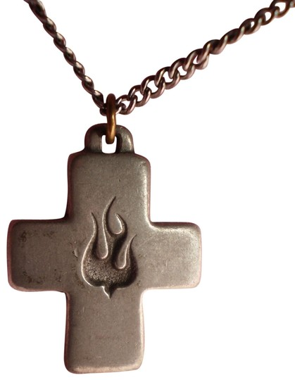 Preload https://item4.tradesy.com/images/vintage-silver-cross-wdove-necklace-154158-0-1.jpg?width=440&height=440