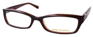 Tory Burch Tory Burch Women's Brown Eyeglasses Optical Frame
