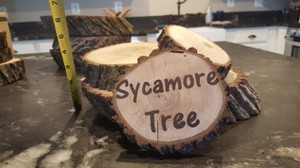 Wood Centerpieces For Rustic Weddings!