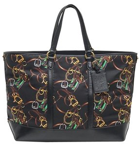 Ralph Lauren New Collection Tote in black