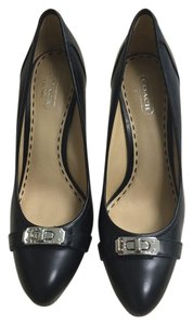 Coach Camille Heels Black Pumps