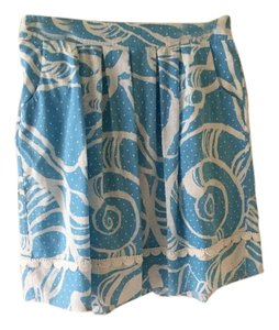 Lilly Pulitzer Skirt Blue/white