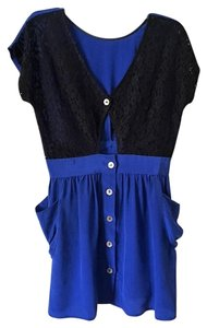 Myne short dress Blue on Tradesy