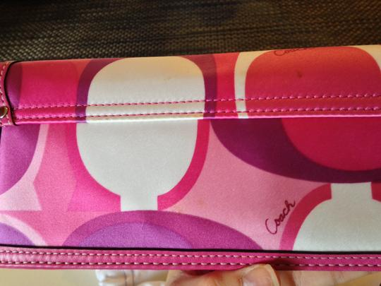 Coach Limited Edition Purple/Pink Clutch