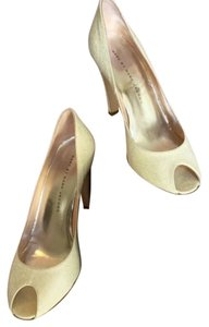 Marc by Marc Jacobs Patent White Pumps