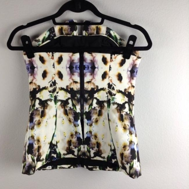 Finders Keepers Top White, Blue, Black, Yellow