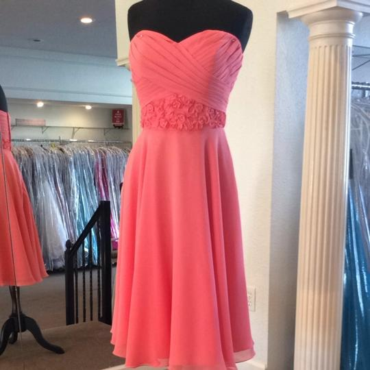 Mori Lee Cantelope Bridesmaid/Mob Dress Size 10 (M)