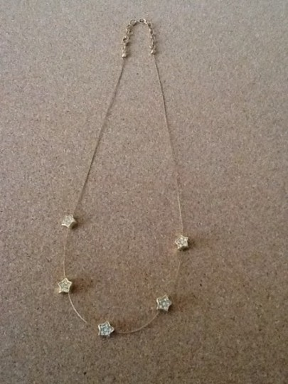 Other Gold Tone Star Necklace