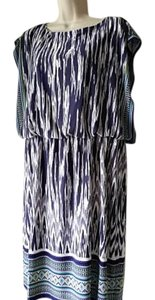 Chico's short dress Ikat Print Blouson on Tradesy