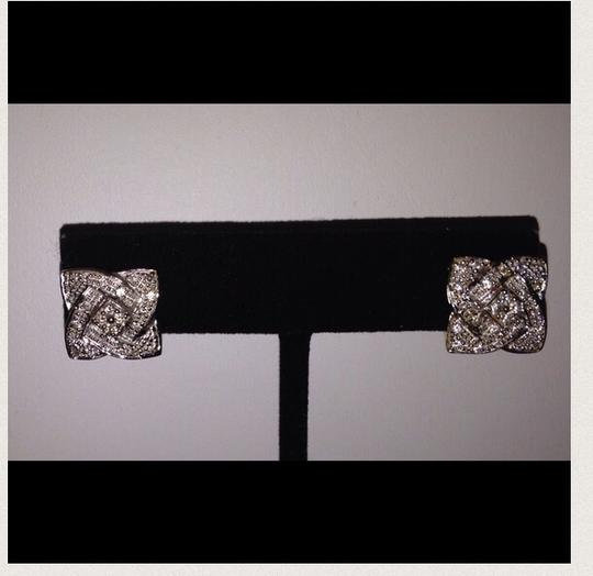 Other 14K Yellow Gold & Diamond French Clip Pierced Earrings