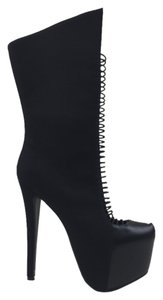 Boot Stiletto Black Boots