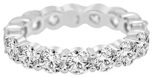 Avi and Co 4.32 cttw Round Brilliant Cut Diamond Eternity Wedding Band 14K White Gold