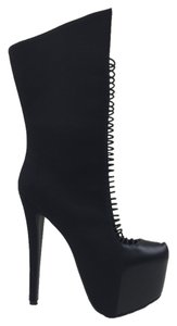 Stiletto Black Boots