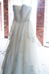 Melissa Sweet Melissa Sweet Organza And Lace Vintage Inspired Size 8 Wedding Dress Ms251001 Wedding Dress