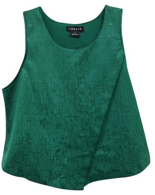 Preload https://img-static.tradesy.com/item/15418768/trouve-emerald-green-night-out-top-size-6-s-0-2-650-650.jpg
