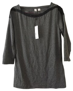 Esprit T Shirt Gray with black trim
