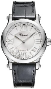 Chopard Chopard Happy Sport Stainless Steel Diamond Automatic Watch278559-3001