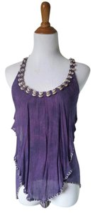 Free People Purple Halter Top