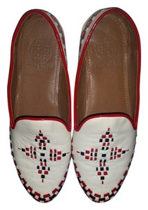 Tory Burch red /blue /white Flats