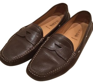 Prada Brown Loafers Flats