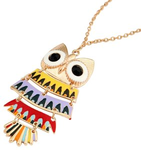 Other Multi Color Owl Long Necklace!