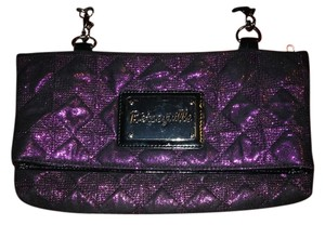 Betsey Johnson Metallic Night Out Cross Body Bag