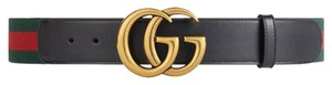 Gucci Web belt with double G buckle multiple sizes