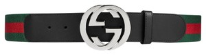 Gucci Web belt with G buckle multiple sizes