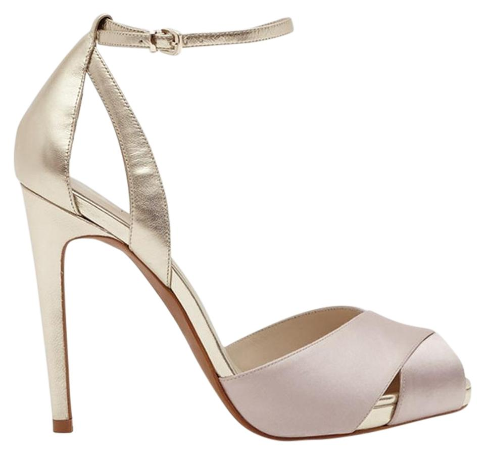 Reiss Crossover Blush Cece Crossover Reiss Front Sandals 6b3c92