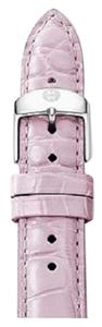Michele Michele MS16AA010532 Women's 16mm Pastel Purple Genuine Alligator Watch Strap Band NEW! $180