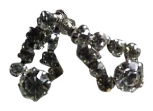 Albert Weiss Signed Weiss Screwback Earrings, Tons of Sparkle, Stones are Perfect Clarity!