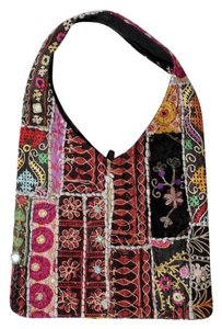 Other Boho Bohemian India Mirrors Embroidered Shoulder Bag