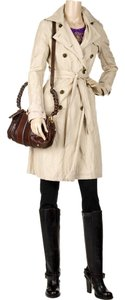 Gryphon Timeless Raincoat Distressed Trench Coat