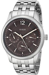 Guess Guess W0508G1 Men's Silver Analog Watch