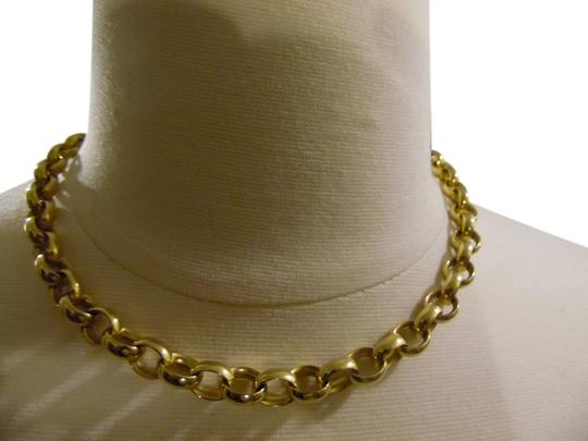 Veronese Collection Veronese Collection 20 Inch High Polish 18kt Clad .925 Sterling Silver Rolo Necklace..