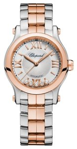 Chopard Chopard Happy Sport 18K Rose Gold Stainless Steel Automatic Watch