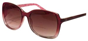 Lilly Pulitzer Lilly Pulitzer Sunglasses Readers +2.00 pink Brown With Case Square Large