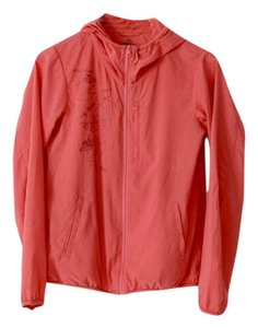 Uniqlo Pocketable Art Print Zip Up Pink Jacket