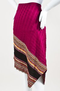 Missoni Magenta Pink Skirt Multi-Color
