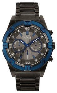 Guess Guess W0377G5 Men's Sport Gunmetal Analog Watch