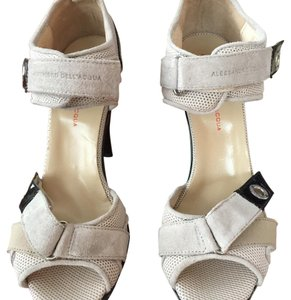 Alessandro Dell'Acqua Beige and Black Platforms