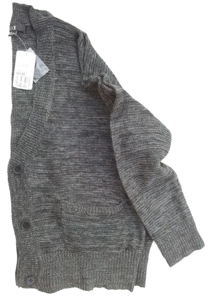 7ab8afdc59 Forever 21 Dark Gray New Knit Large Cardigan Size 8 (M) - Tradesy