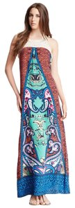 Multicolor Maxi Dress by Flying Tomato Jade Crochet Halter Maxi