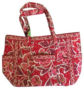 Vera Bradley Tote Beach Travel Pet And Smoke Free Rosy Posies Travel Bag
