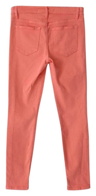 Item - Pink Light Wash Ankle Stretchy Skinny Jeans Size 27 (4, S)