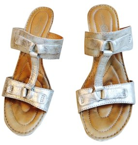 Barn Crown platinum LEATHER Sandals