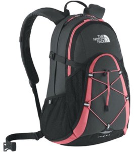 The North Face Black & Pink Travel Bag