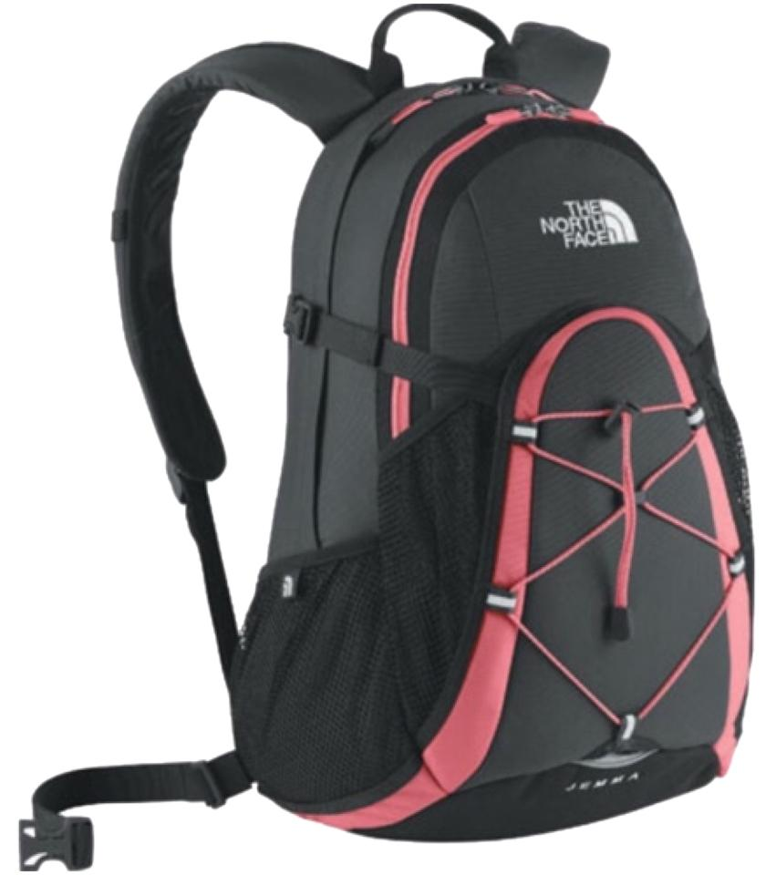 a7c6f012635 The North Face Jemma Black & Pink Canvas Weekend/Travel Bag 49% off retail
