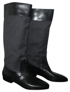 Via Spiga Black/Grey Boots