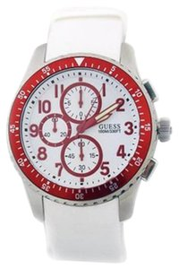 Guess Guess U12651G3 Men's Geared For Adventure White Analog Watch